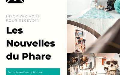 """""""Les Nouvelles du Phare"""" : inscrivez-nous à notre newsletter !"""